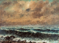 Autumn Sea painting reproduction, Gustave Courbet