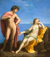 Bacchus and Ariadne painting reproduction, Guido Reni