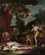 Bacchus and Ariadne painting reproduction, Sebastiano Ricci