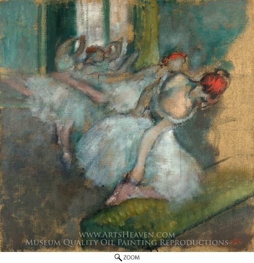 Edgar Degas, Ballet Dancers oil painting reproduction
