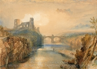 Barnard Castle painting reproduction, J.M.W. Turner