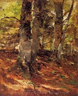 Beachwoods at Polling painting reproduction, Frank Duveneck