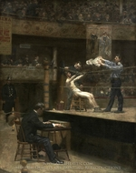 Between Rounds painting reproduction, Thomas Eakins