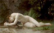Biblis painting reproduction, William A. Bouguereau