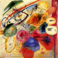 Black Lines I painting reproduction, Wassily Kandinsky