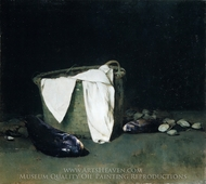 Blackfish and Clams painting reproduction, Emil Carlsen