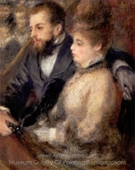 Box at the Theatre painting reproduction, Pierre-Auguste Renoir