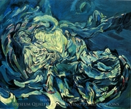 Bride of the Wind painting reproduction, Oskar Kokoschka