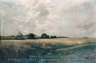 Broad Acres painting reproduction, Edward Gay