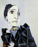 Buste de Dora Maar painting reproduction, Pablo Picasso (inspired by)