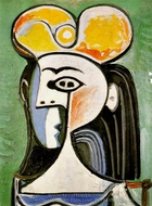 Buste de Femme painting reproduction, Pablo Picasso (inspired by)