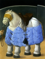 Caballo Del Picador painting reproduction, Fernando Botero