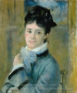 Camille Monet painting reproduction, Pierre-Auguste Renoir