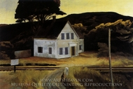 Cape Cod in October painting reproduction, Edward Hopper