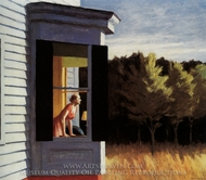 Cape Cod Morning painting reproduction, Edward Hopper