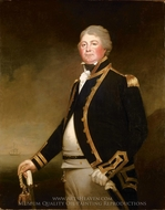 Captain James Newman Newman painting reproduction, Archer James Oliver
