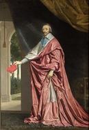 Cardinal de Richelieu painting reproduction, Philippe De Champaigne
