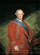 Carlos IV, Rey de Espana painting reproduction, Francisco De Goya