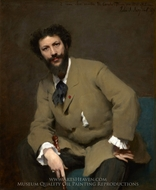 Carolus Duran painting reproduction, John Singer Sargent