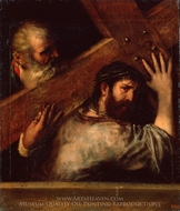 Carrying of the Cross painting reproduction, Titian