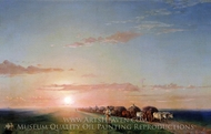 Carts in Steppe painting reproduction, Ivan Aivazovskiy