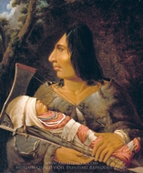 Caw Wacham: Flathead Woman with Child painting reproduction, Paul Kane