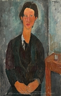 Chaim Soutine painting reproduction, Amedeo Modigliani