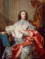 Charles de Saint-Albin, Archbishop of Cambrai painting reproduction, Hyacinthe Rigaud