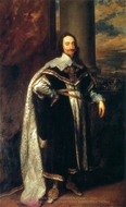 Charles I painting reproduction, Sir Anthony Van Dyck