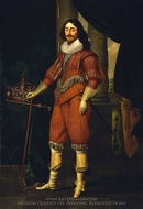 Charles I, King of Great Britain and Ireland painting reproduction, Daniel Mytens
