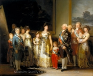 Charles IV of Spain and His Family painting reproduction, Francisco De Goya