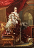 Charles X, King of France painting reproduction, Henry Bone