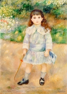 Child with a Whip painting reproduction, Pierre-Auguste Renoir