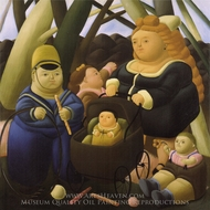 Children Fortunes painting reproduction, Fernando Botero
