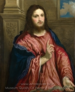 Christ as 'The Light of the World' painting reproduction, Paris Bordone