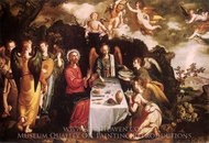 Christ Attended to by Angels painting reproduction, Francisco Pacheco