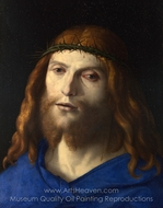 Christ Crowned with Thorns painting reproduction, Cima Da Conegliano