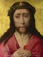 Christ Crowned with Thorns painting reproduction, Dieric Bouts