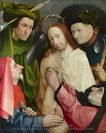 Christ Mocked (The Crowning with Thorns) painting reproduction, Hieronymus Bosch