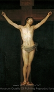 Christ on the Cross painting reproduction, Francisco De Goya