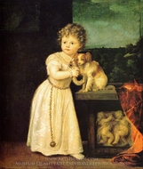 Clarice Strozzi painting reproduction, Titian