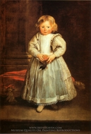 Clelia Cattneo painting reproduction, Sir Anthony Van Dyck