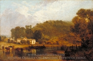 Cliveden on Thames painting reproduction, J.M.W. Turner