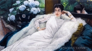 Clotilde Briatte, Comtesse Pillet-Will painting reproduction, James Tissot