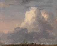 Clouds painting reproduction, Thomas Cole