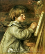 Coco Painting painting reproduction, Pierre-Auguste Renoir