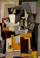 Composition painting reproduction, Pablo Picasso (inspired by)