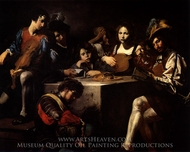 Concert painting reproduction, Valentin De Boulogne