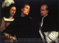 Concert painting reproduction, Titian