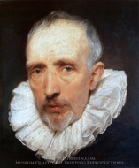 Cornelis Van Der Geest painting reproduction, Sir Anthony Van Dyck